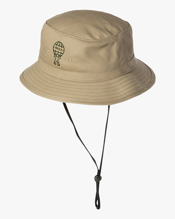 0 Somewhere Bucket Hat Green MAHWWRSB RVCA