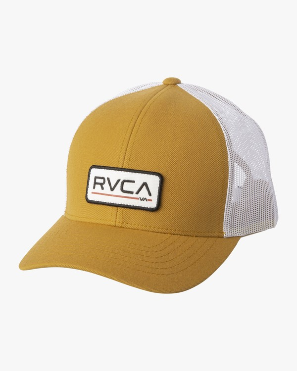 0 TICKET TRUCKER III HAT Brown MAHWWRTT RVCA