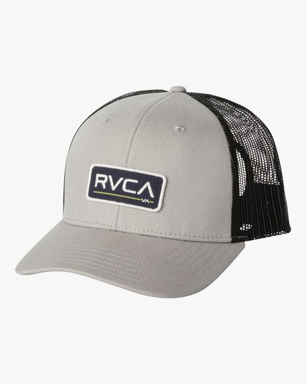 0 TICKET TRUCKER III HAT Grey MAHWWRTT RVCA
