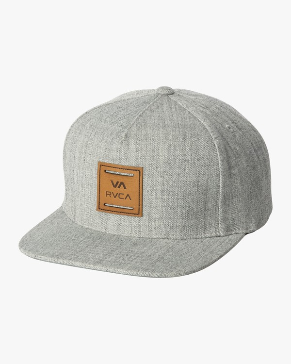 0 VA All The Way Snapback Hat Grey MAHWWRVS RVCA