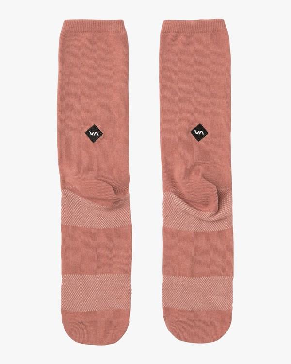 0 Pigment Crew Socks  MASOQRPM RVCA