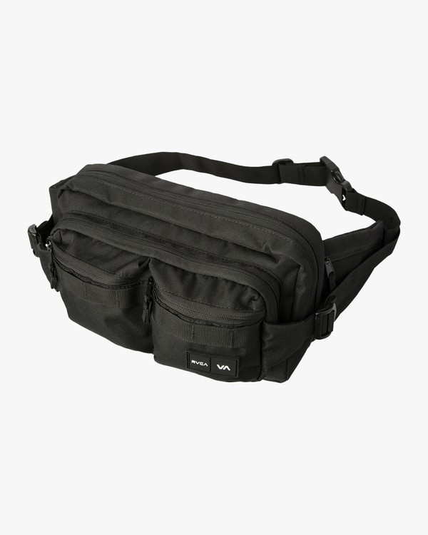 0 DELUXE HIP BAG Black MATV3RWD RVCA