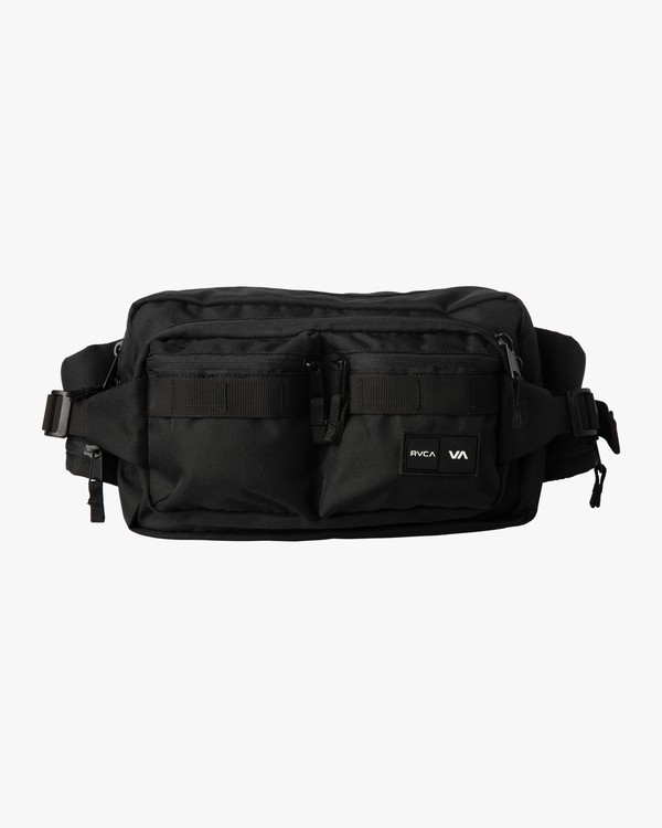 0 DELUXE HIP BAG Black MATV3RWD RVCA