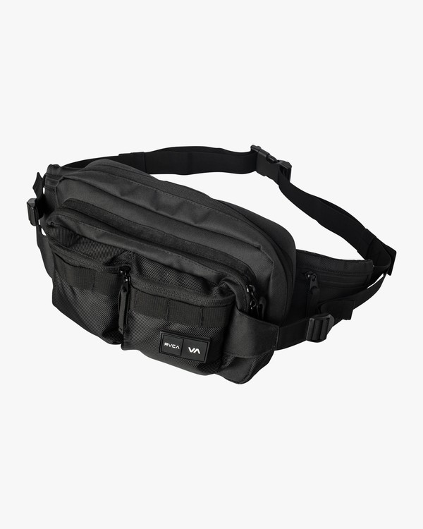 0 RVCA Waist Pack Deluxe Black MATVVRWD RVCA