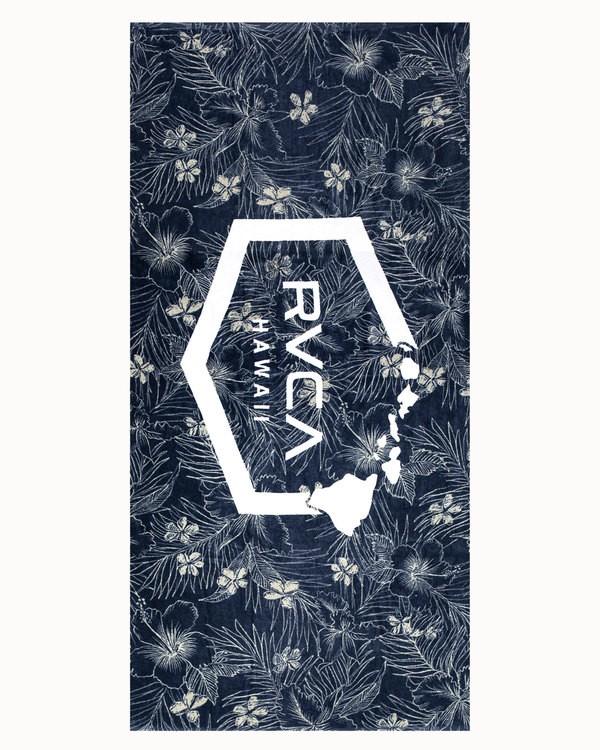 0 ISLAND HEX TOWEL Blue MATW3RHD RVCA