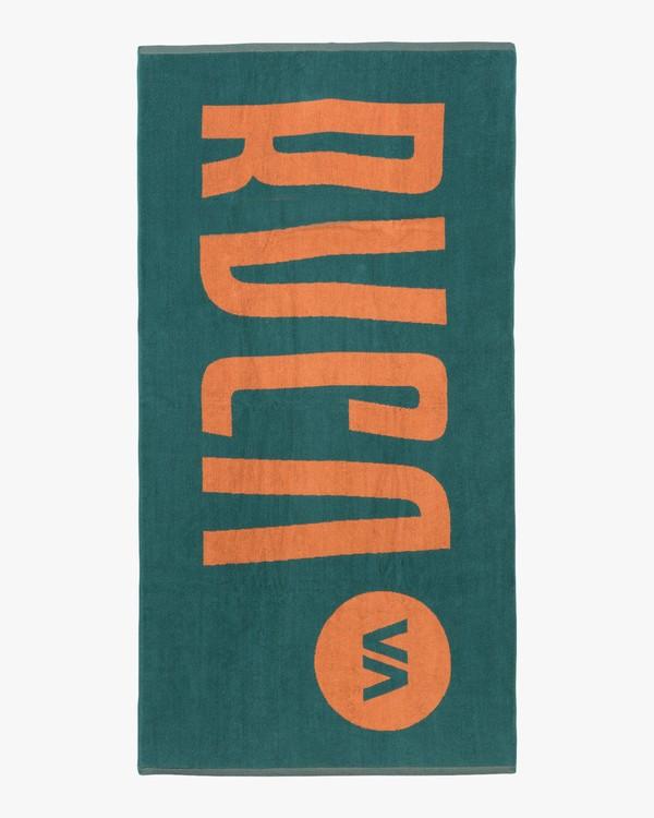 0 RVCA Beach Towel Blue MATWTRBT RVCA