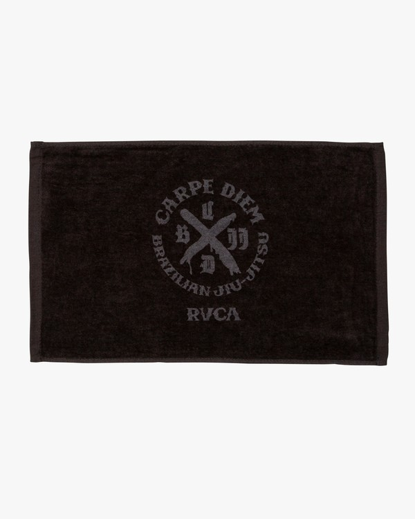 0 Carpe Diem Tokyo Towel Black MATWVRCD RVCA