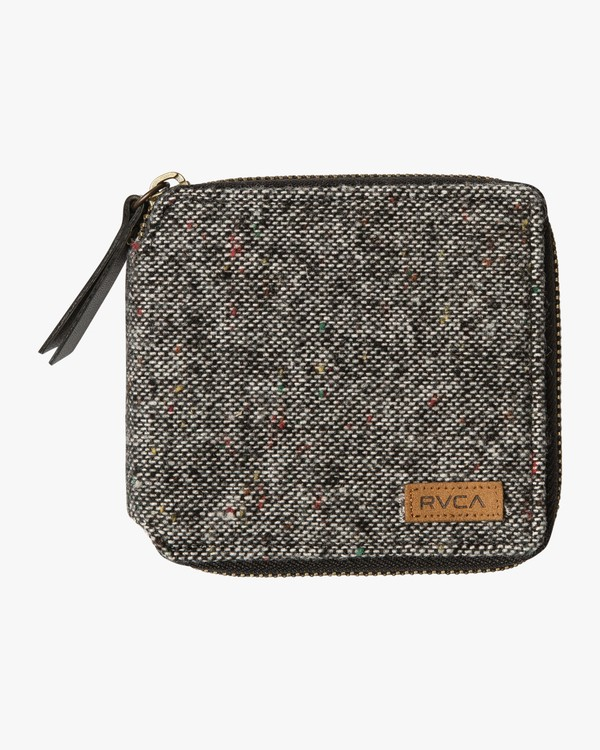 0 Zip Around Wallet Black MAWAQRZA RVCA