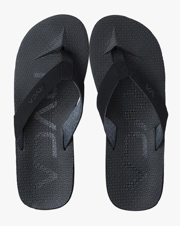 0 Subtropic Sandals Black MFASPSTS RVCA