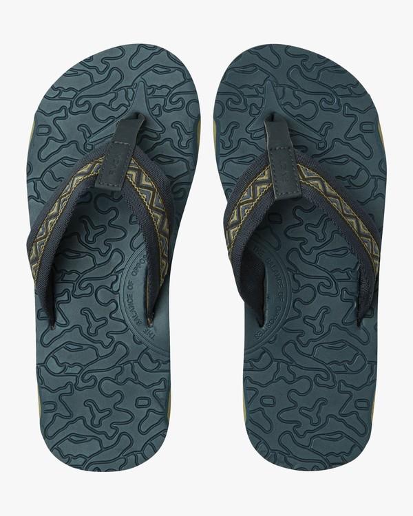 0 Outrigger Sandal Blue MFOTNROR RVCA