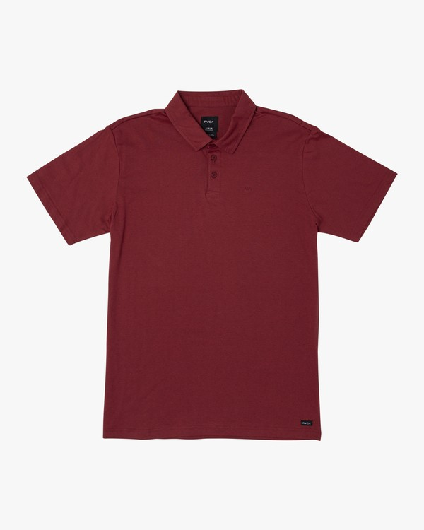0 Sure Thing II Polo Red MJ922SUR RVCA