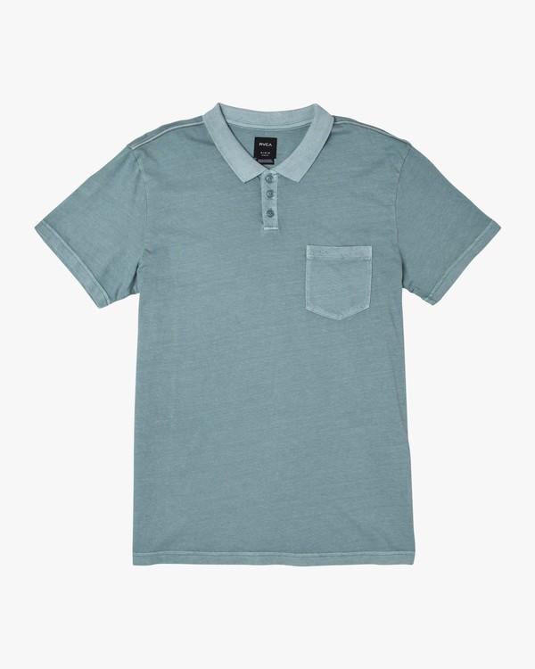 0 PTC Pigment Polo Shirt Multicolor MK908PPP RVCA