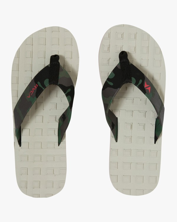 0 Astrodeck Sandal White MKASPADS RVCA