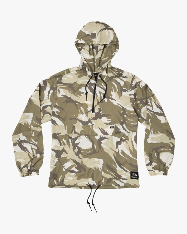 0 Islands Public Works Packable Jacket Camo MM701IPW RVCA