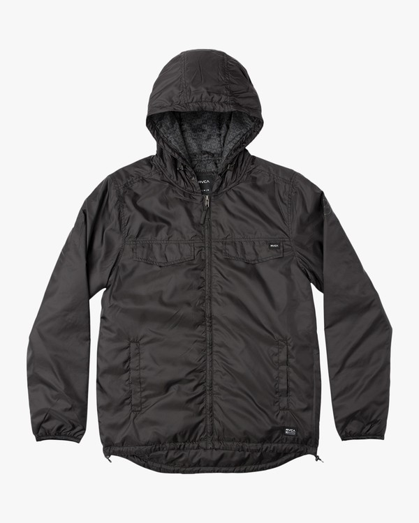 0 Tracer Jacket Black MM702TRA RVCA