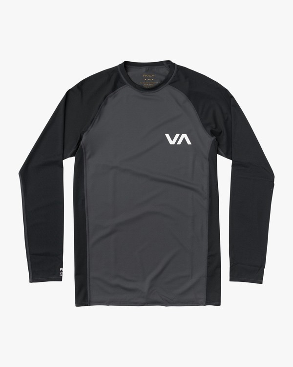 0 Long Sleeve Rashguard Grey MR51NRLS RVCA
