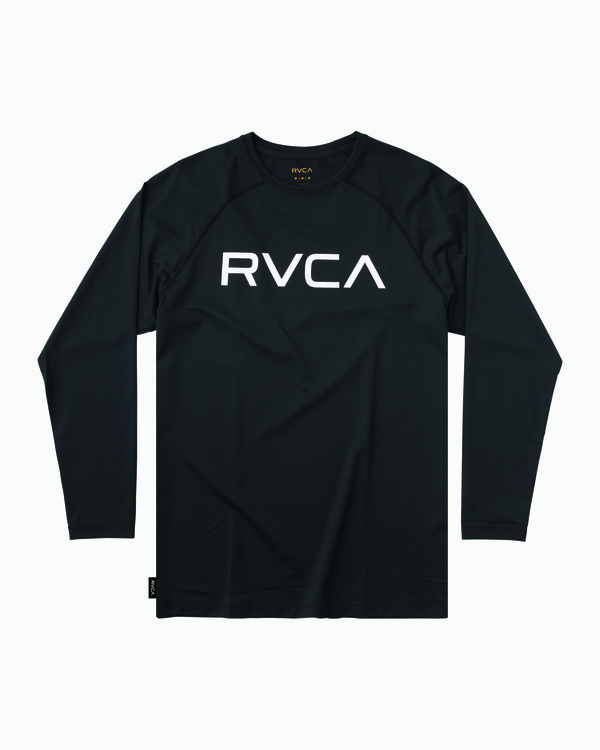 0 Micro Mesh Long Sleeve Surf Top Black MR52NRMM RVCA