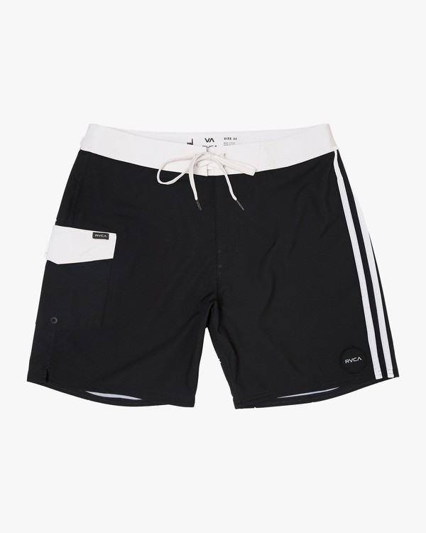 0 Higgins Trunk Black N1BSRMRVP9 RVCA