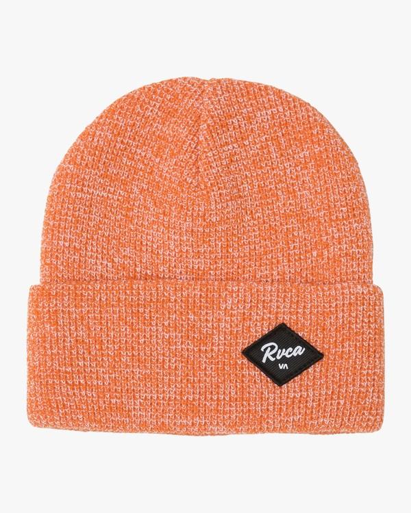 0 Vibes Beanie Orange N5BNRARVP9 RVCA