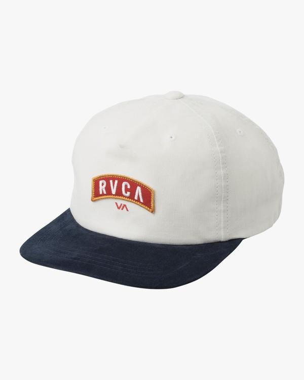 0 Everett - Snapback Cap for Men White N5CPRHRVP9 RVCA