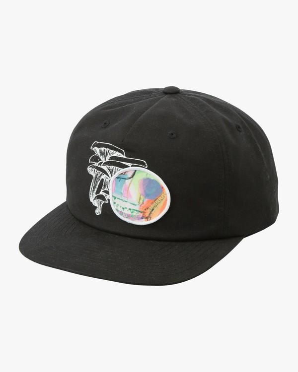 0 Sage Vaughn - Snapback Cap for Men Black N5CPRQRVP9 RVCA