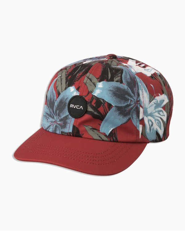0 Exy Dad Hat - Cap for Women Red N9CPRBRVP9 RVCA
