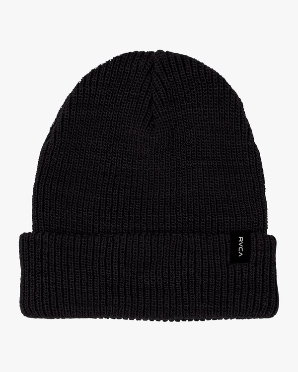 0 Dayshift - Cuff Knit Beanie for Men Black Q5BNRARVF9 RVCA