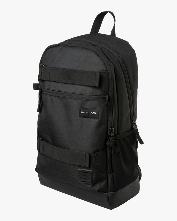 0 Curb Backpack - Backpack for Men Black Q5BPRDRVF9 RVCA
