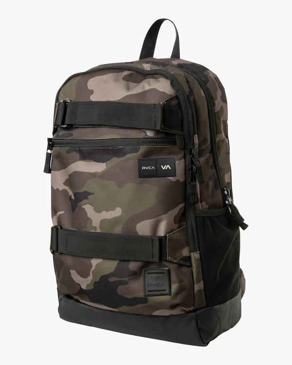 0 Curb Backpack - Backpack for Men Camo Q5BPRDRVF9 RVCA