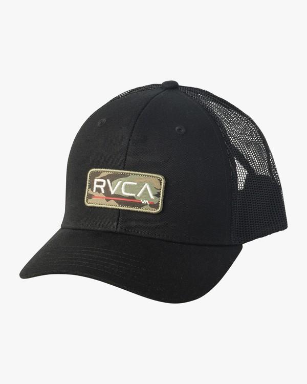 0 Ticket II  - Cappellino Trucker da Uomo Black Q5CPRARVF9 RVCA