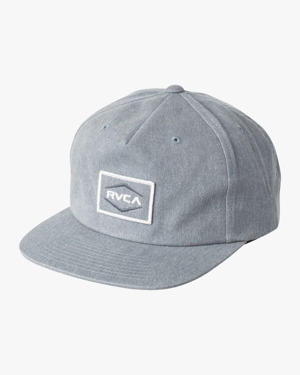 0 Pints  - Snapback Hat Blue Q5CPRLRVF9 RVCA