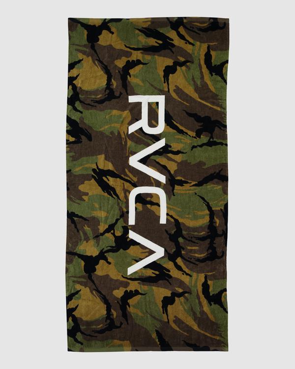 0 Big Rvca Towel Camo R106541 RVCA