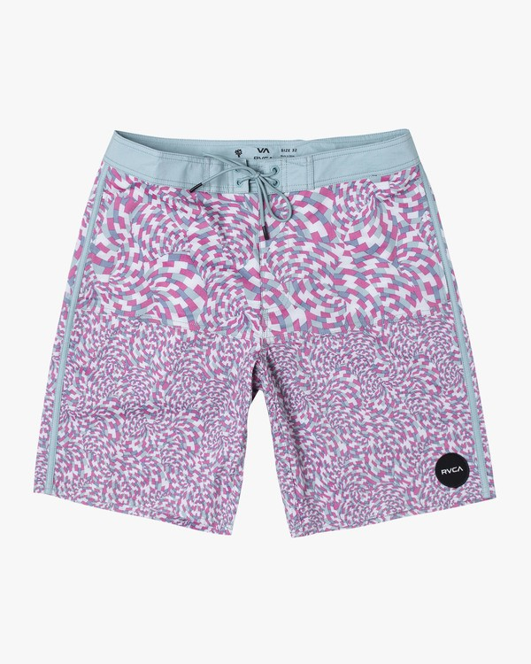 """0 Arroyo Trunk 19"""" - Printed Board Shorts for Men  S1BSRGRVP0 RVCA"""