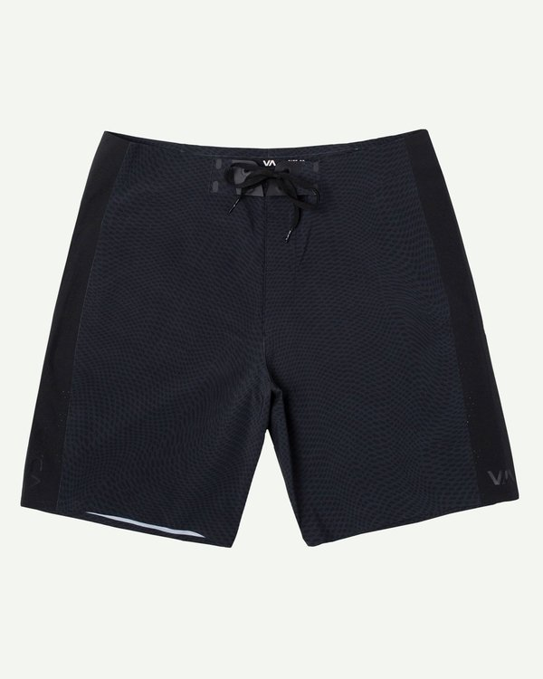 "0 Commander Trunk 18"" - Black Board Shorts for Men Black S1BSRLRVP0 RVCA"