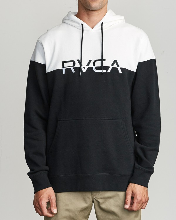 0 Ace Clr Blk  - Hooded Sweatshirt for Hooded Sweatshirt Black S1HORNRVP0 RVCA