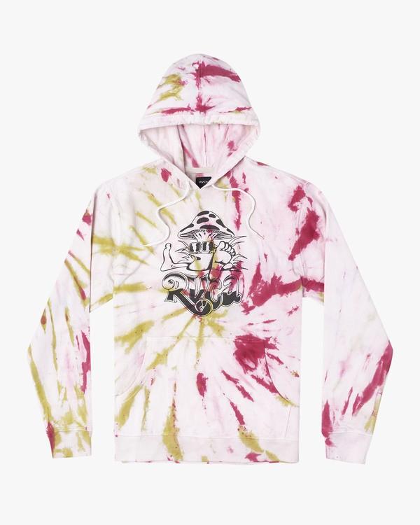 0 DMOTE Switch Tie Dye  - Tie-Dye Hooded Sweatshirt for Tie-Dye Hooded Sweatshirt  S1HORORVP0 RVCA