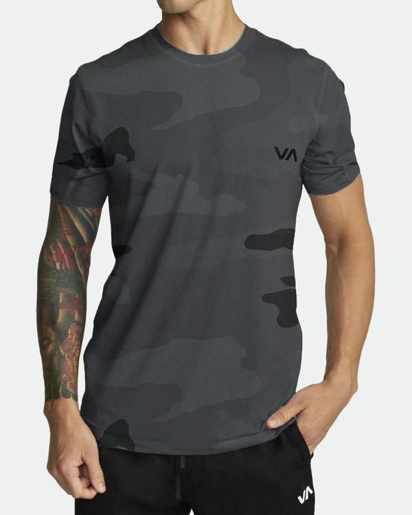 0 Sport Vent - Athletic T-Shirt for Men Camo S4KTMDRVP0 RVCA