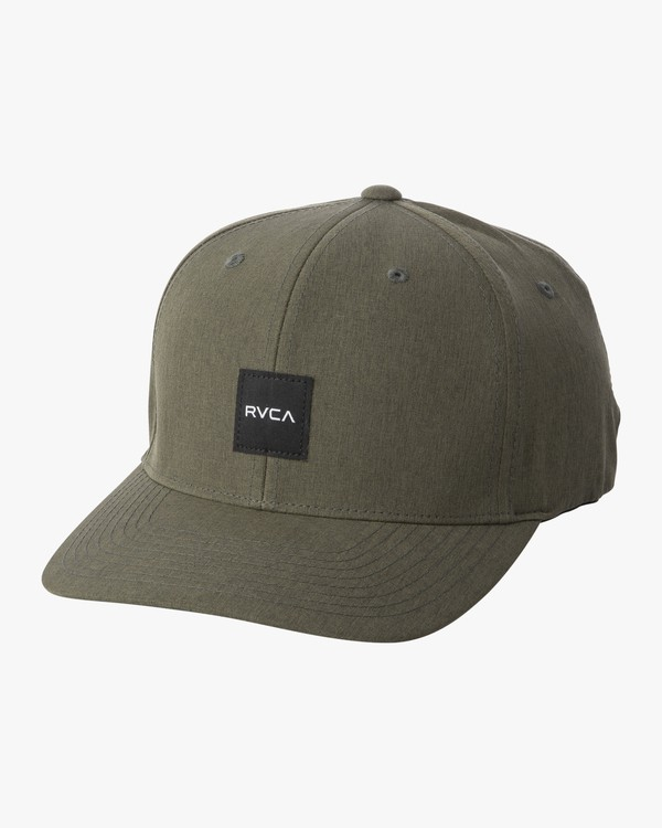 0 Shift - Flexfit Hat for Men Green S5CPRIRVP0 RVCA