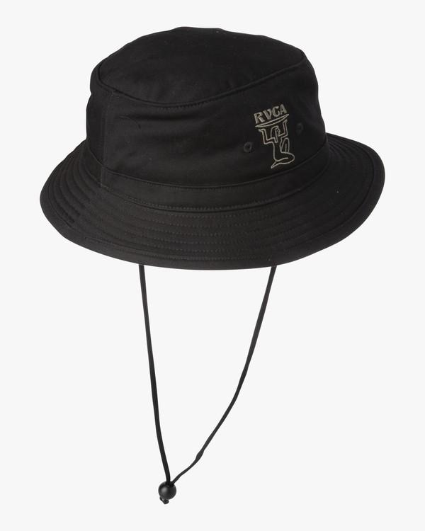 0 Ancient  - Bucket Hat for Men Black S5HTRARVP0 RVCA