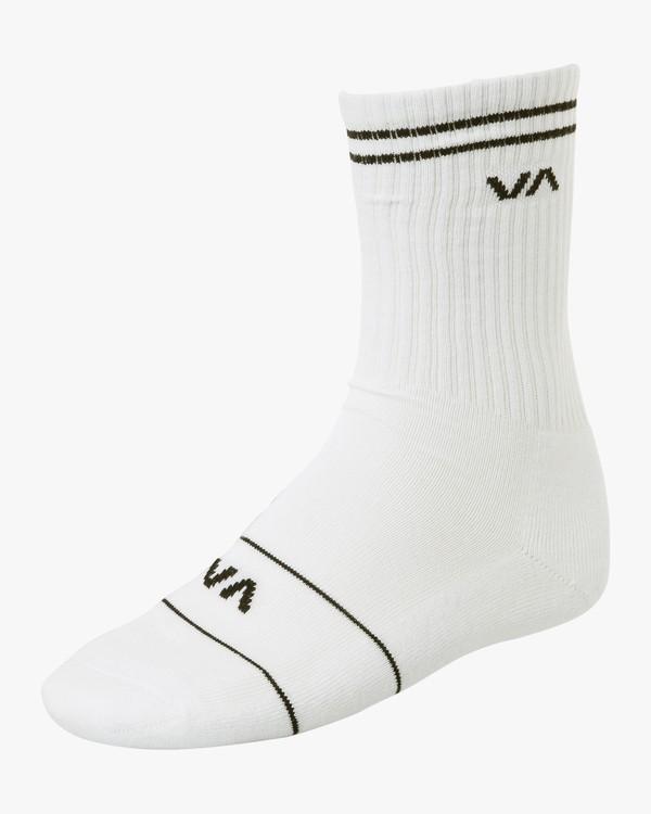 0 Union Skate - Socks for Men White S5SORBRVP0 RVCA