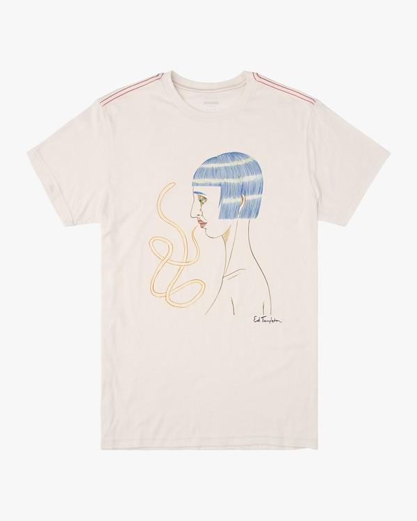0 Ed Templeton Ed Speak - T-shirt pour Homme Blanc T1SSRARVS0 RVCA