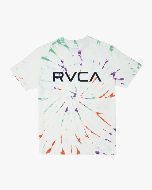 0 RVCA Tie Dye - T-Shirt for Men  T1SSRIRVS0 RVCA