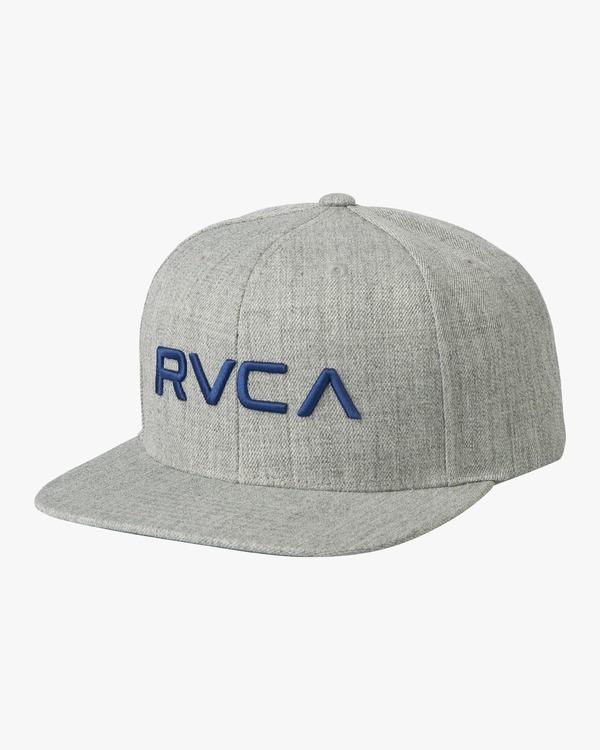 0 RVCA Twill III - Snapback Cap for Men  U5CPRSRVF5 RVCA