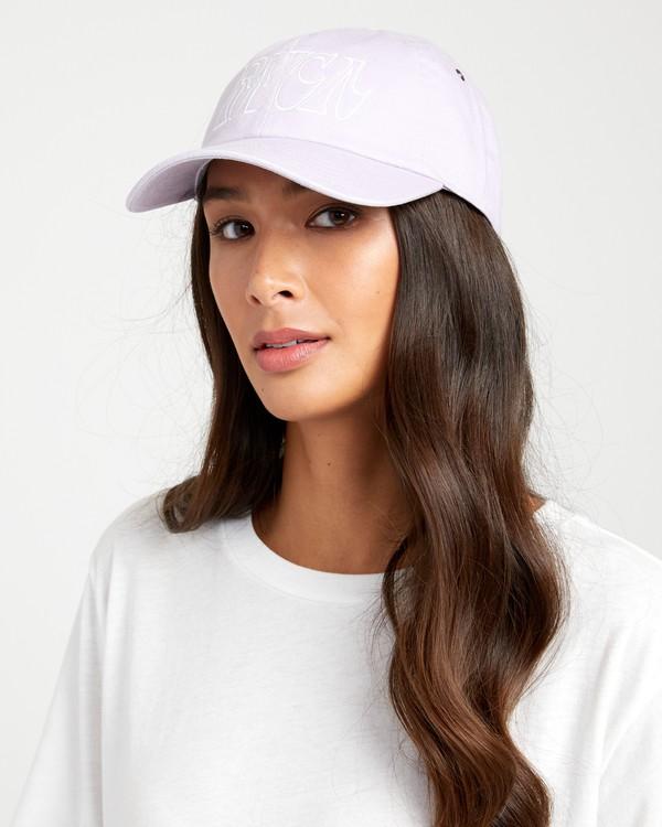 0 Staple Dad - Dad Cap for Women Purple U9CPRARVF0 RVCA