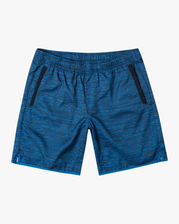 "0 YOGGER IV 17"" WORKOUT SHORT Blue V2133RYG RVCA"