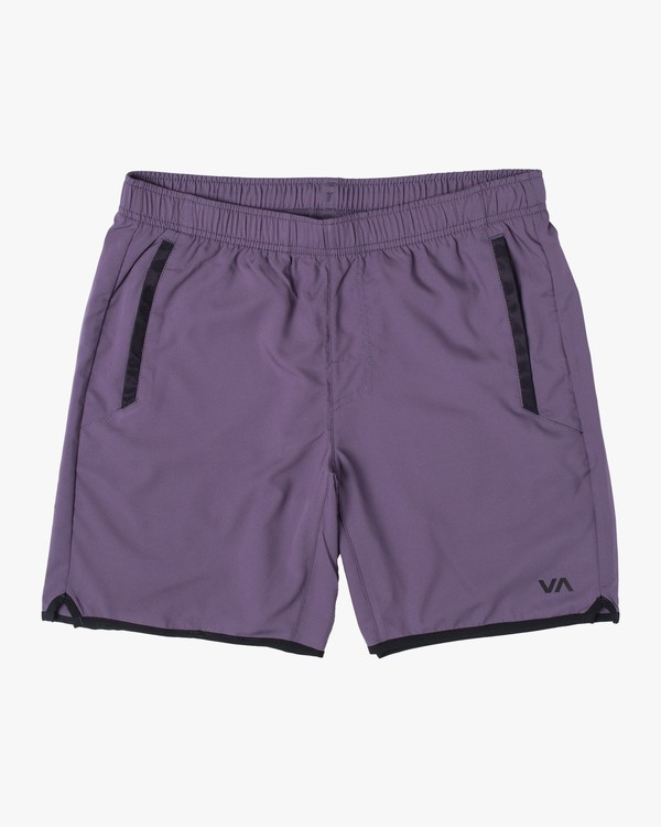 "0 YOGGER IV 17"" WORKOUT SHORT Multicolor V2133RYG RVCA"