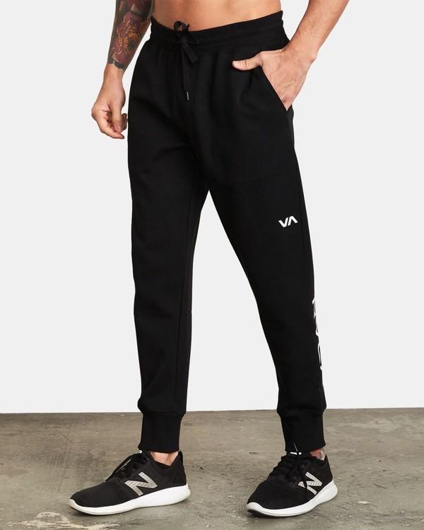 0 Sideline Sweatpant Black V304TRSP RVCA
