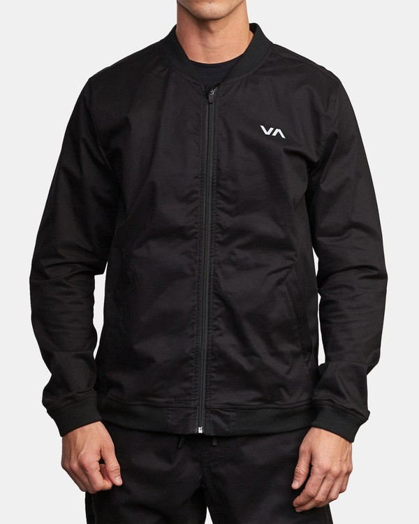 0 Spectrum Bomber Jacket Black V702WRSB RVCA