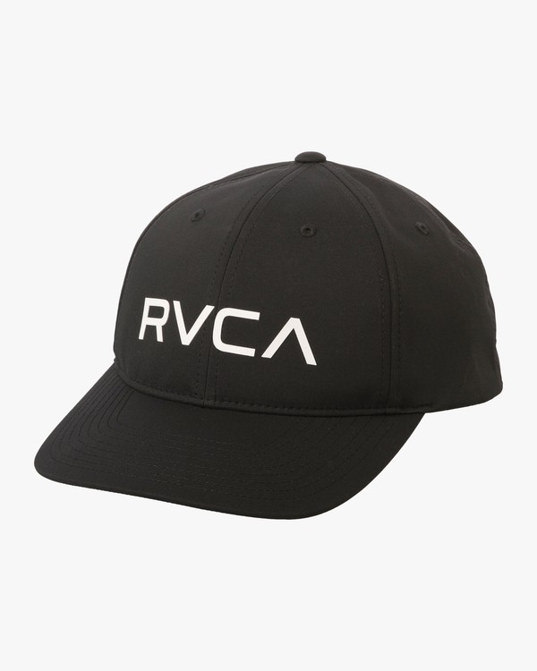 0 VA Tech Quick Dry Hat Black VAHWTRTH RVCA