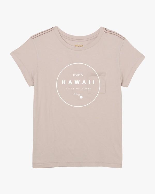 0 Da Aina Outline Sphere T-Shirt Pink W412UROS RVCA